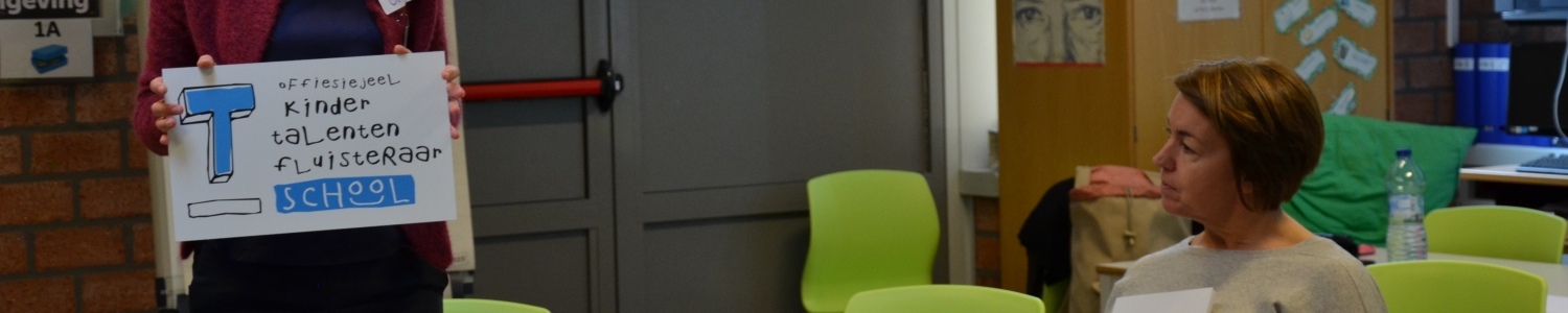 Kindertalentenfluisteraarschool in Antwerpen